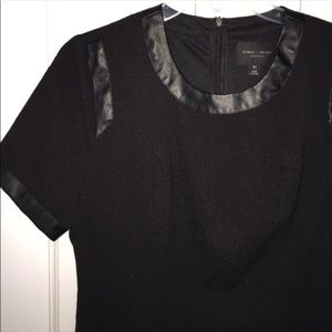 Romeo & Juliet Couture black short sleeve dress